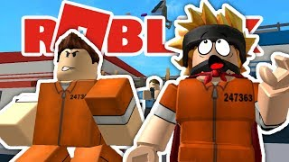 THE GREAT ESCAPE!! | A ROBLOX JAILBREAK STORY | Roblox Adventure Ep 1