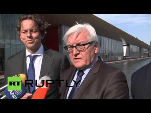 Netherlands: Steinmeier hopes for renewed Syrian peace talks