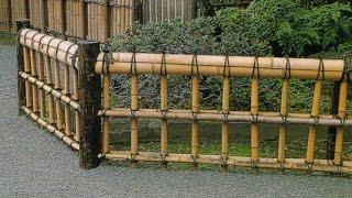видео Декоративный забор