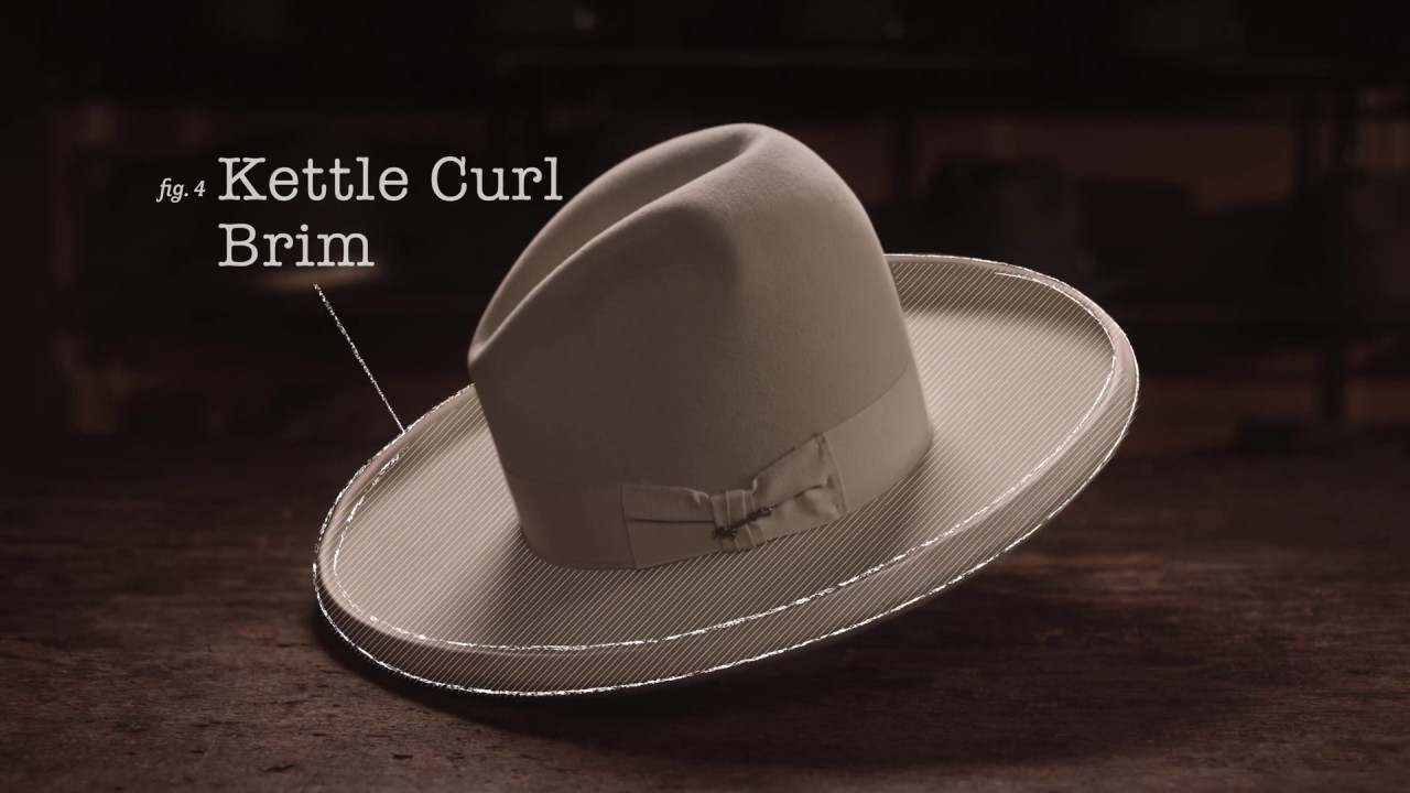 Stetson Education  Hat Anatomy Western Styles Part 2 - YouTube d78a2d7a226