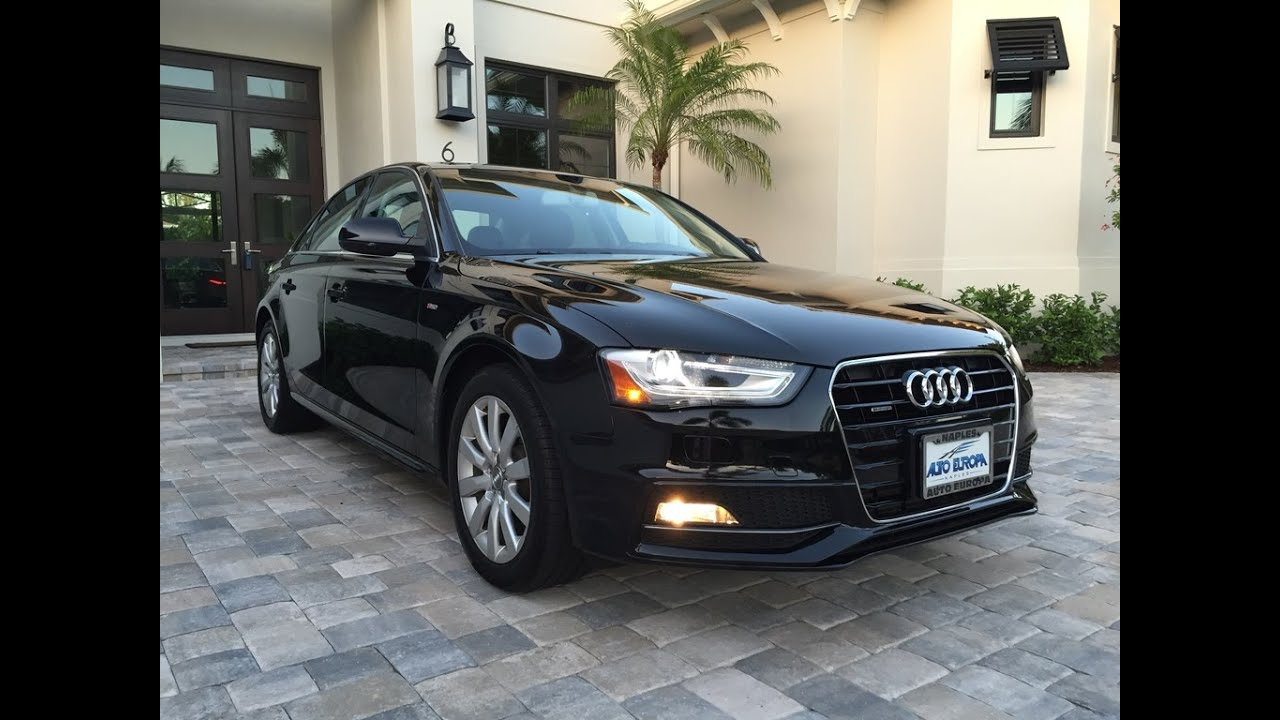Audi A4 2.0T >> Sold 2015 Audi A4 2 0t Premium S Line For Sale By Auto Europa Naples