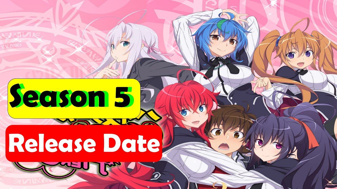 High School DxD Season 5 Release Date Confirmed, Cast, Recap and More