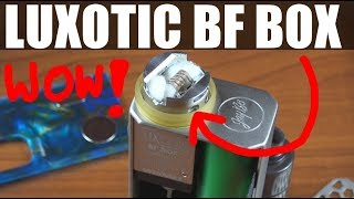 UNBOXING I TEST WISMEC LUXOTIC BF BOX