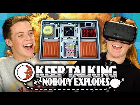 BOMB! Keep Talking and Nobody Explodes (REACT: Gaming)