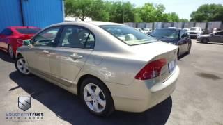 LIVE VIDEO 2008 Honda Civic EX #089336 4 5 Southern Trust