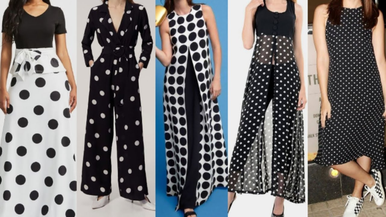 [VIDEO] - Latest Polka Dot Outfit Ideas 2019 | Black and White 1