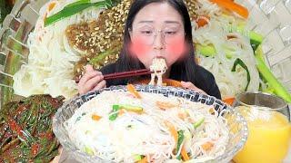 박막례 할머님표 간장비빔국수 파김치 진짜 맛있어서 감동받은 먹방ㅠㅠ Korean Grandma