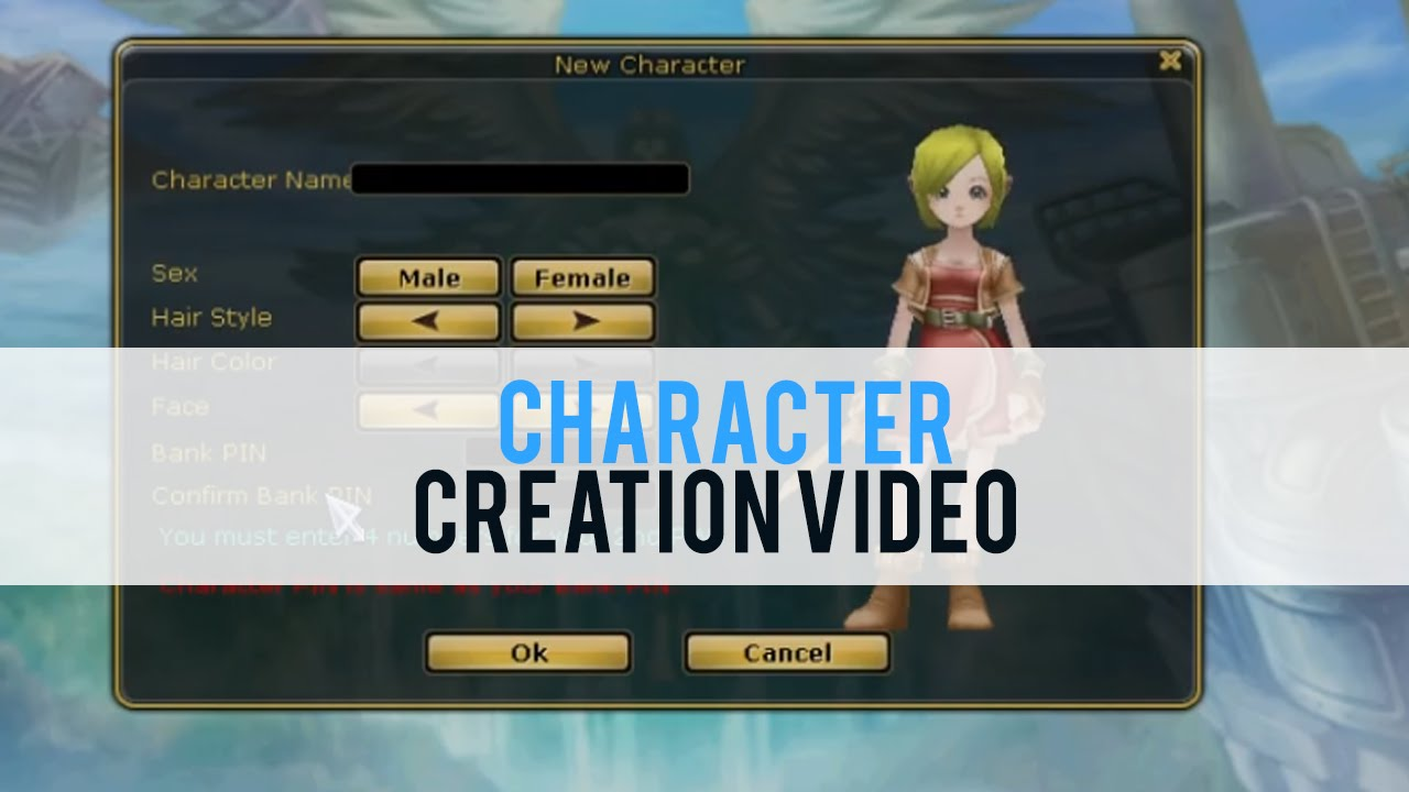 FlyFF: Fly For Fun Character Creation - First Look HD