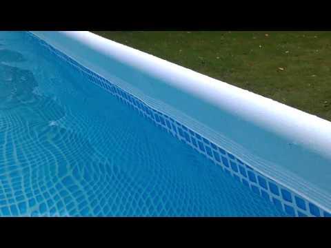 Intex Ultra Frame Pool Seitenwand Krumm Schief. (2)
