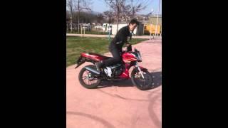 Motorsiklet yanlama show (cup)yuki 130 2017 Video