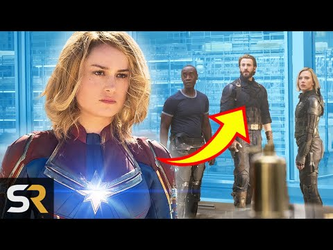 This Is How Captain Marvels Post Credits Scene Ties In With Infinity War And Endgame