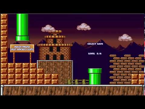 Let's FAIL At Mario Forever: Great Bowser's Castle (part 1)