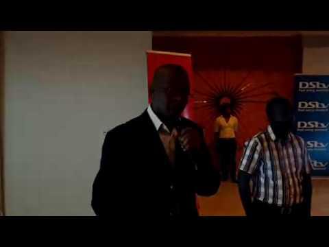 2016 KCM Zambia Open Golf  speech by M Nkhuwa