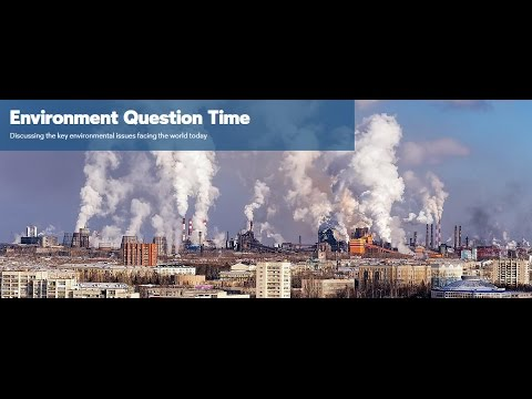 Environment Question Time 2016