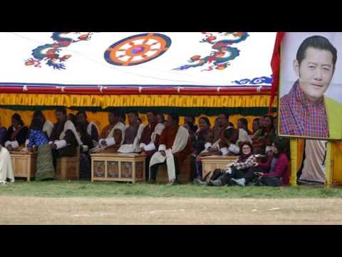 More Celebration of King #4 60th birthday, Bumthang, Bhutan, 2015-11-11