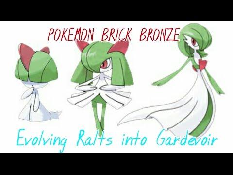 Pokemon Brick Bronze Evolving Ralts Into Gardevoir