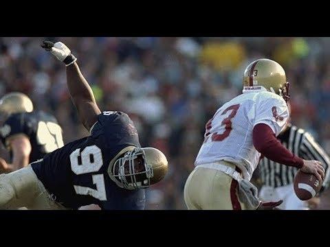 1993 #17 Boston College @ #1 Notre Dame No Huddle