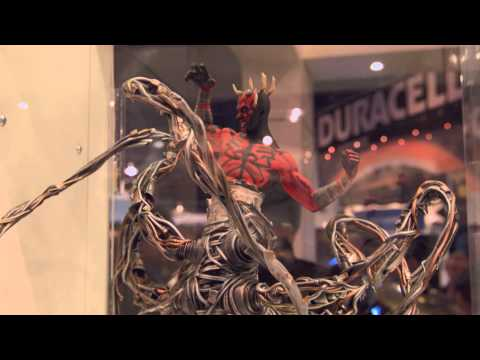 General 3D Printing showcase Featuring 3DSystems - CES 2014