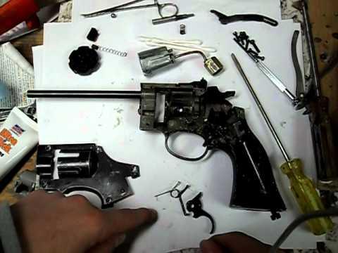 How to repair a 38T air revolver