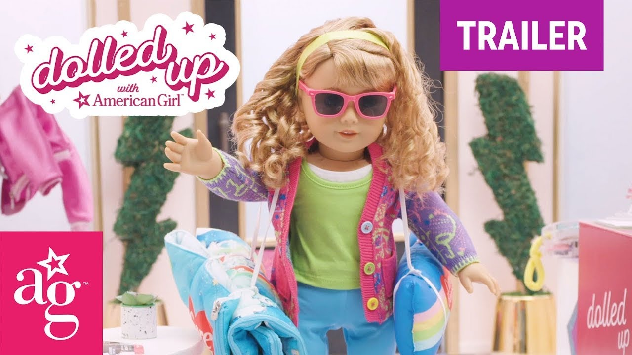 NEW DOLLED UP W/ COURTNEY TRAILER | Dolled Up With American Girl | @American Girl