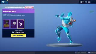 A SET of COMMANDO DISCO SPIN PARTY Shop Fortnite 31.12.18 BERRY Fortnite Battle Royale