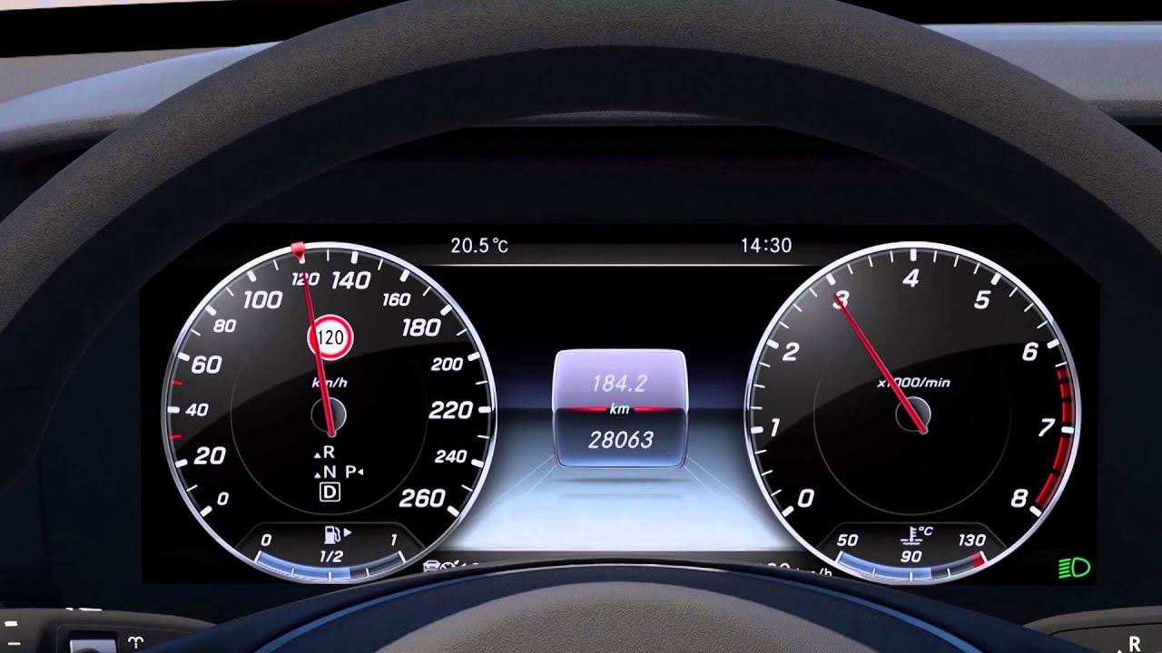 Mercedes Benz E Class 2016 Drive Pilot Speed Limit Pilot