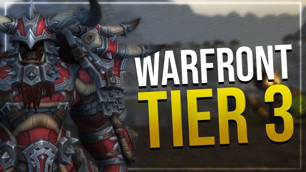 Warfront Tier 3 Mail Armor | Hunter & Shaman | All Horde Male & Female  Races | In-game Preview!