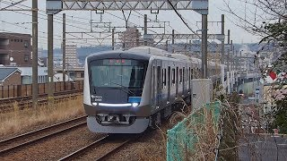 小田急新5000形試運転(5051F)@永山多摩セン間