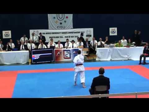 8th World University Karate Championships - 12/15 July 2012 - Bratislava (Slovakia) - Final Women's