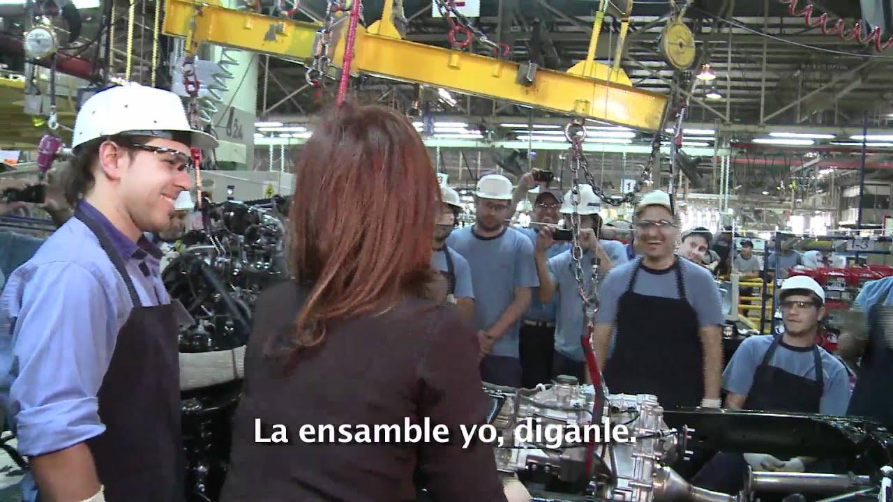 La Presidenta recorre la planta Toyota en Zrate Detrs de Cmara  YouTube