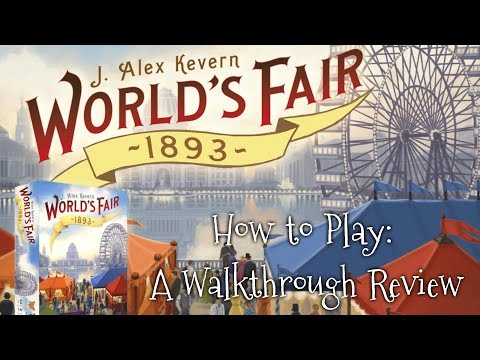 "A Dicey ""Walkthrough Review"" of World's Fair 1893!"