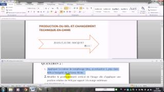 MOS WORD 2010 Spécialiste Q1et Q2 réaliser par A.AITALI