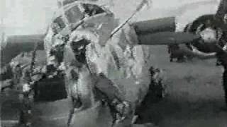 Emergency Landing at Duebendorf during WW II