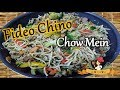 Como hacer FIDEO CHINO /CHOW MEIN