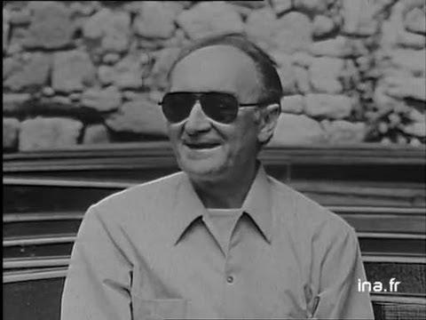 Festival d'Avignon interview Jean Vilar