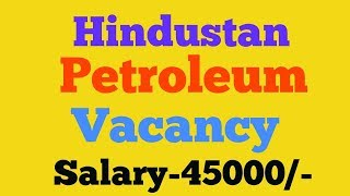 HPCL Not Specified Post Project Associate Post Recruitment