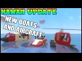Unturned Hawaii - New Boats Helicopters and Planes! | Unturned Hawaii Update Showcase