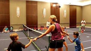 Red Court Tennis Games. Part 5