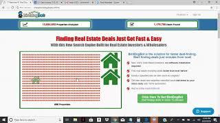 Real Estate Investor Bird Dog Video