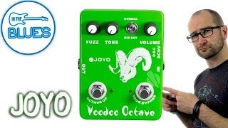 joyo Voodoo Octave Fuzz Pedal Demo