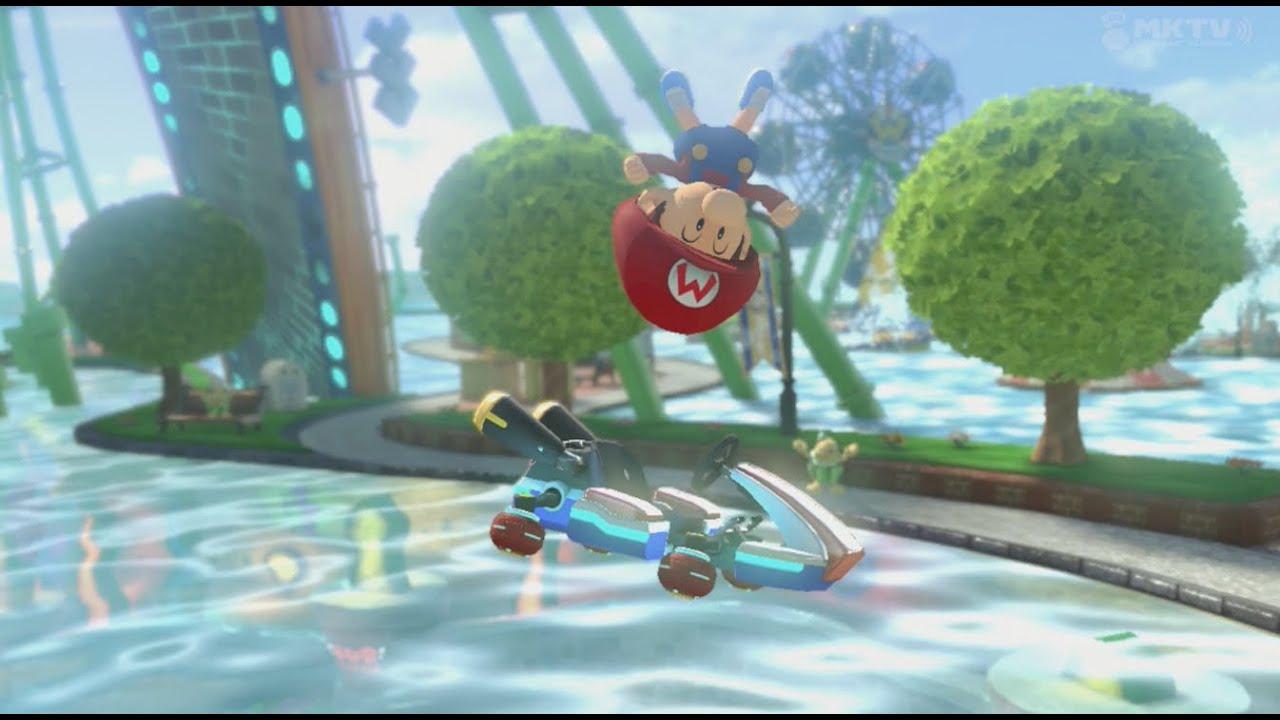 Baby Mario Mario Kart 8: BABY PEACH IS HATING