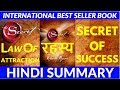 THE SECRET BOOK IN HINDI - रहस्य | WHAT IS LAW OF ATTRACTION | ANIMATED BOOK SUMMARY | RHONDA BYRNE