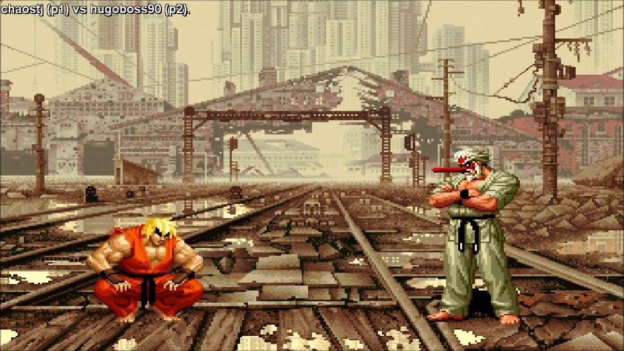Fightcade - Snk Vs Capcom Chaos Plus - Chaostj(MEX) Vs Hugoboss90(MEX)