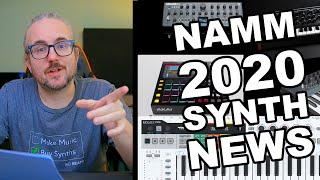 SYNTH HIGHLIGHTS NAMM 2020 – NEWS ROUNDUP