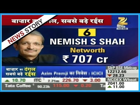 Nemish S Shah, one of the biggest investors has a net worth of 707 crore, invests in which stock?