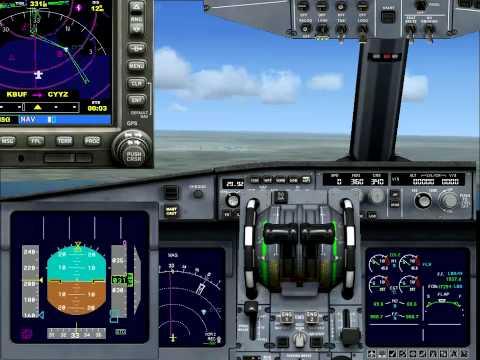 Fsx manual Landing tutorial