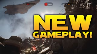 star wars battlefront new pc gameplay orbital strike ion torpedo scout trooper