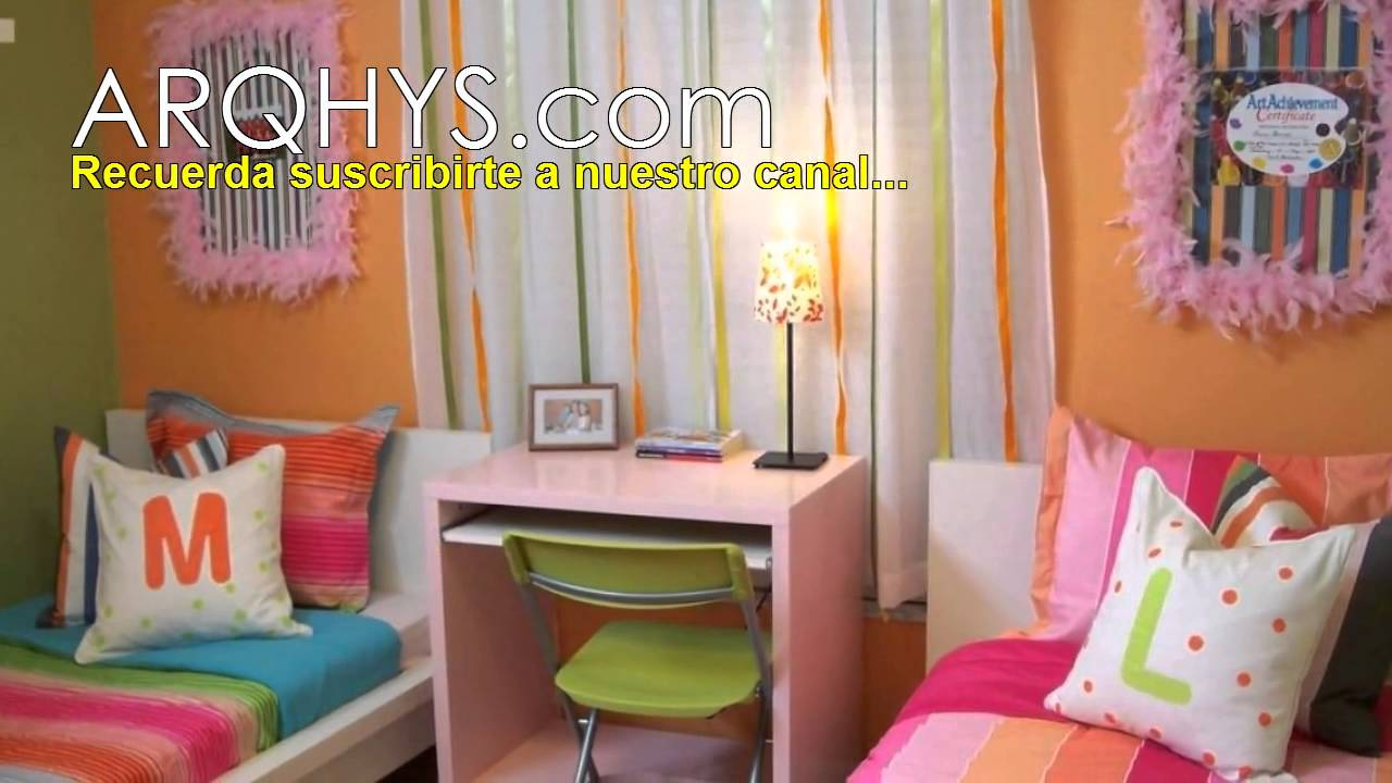 10 ideas para decorar un cuarto muy peque o youtube for Programa para amueblar una habitacion