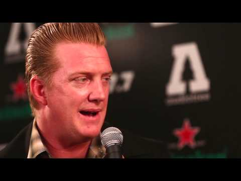 Joshua Homme of Queens Of The Stone Age : Q87.7 The Night We Stole Christmas : Interviews Mp3