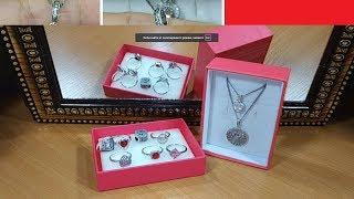 Обзор 94 ювелирный, серебро aliexpres, JewelryPalace недорогие кольца и подвески